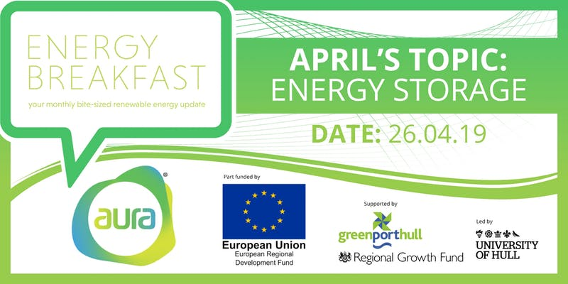 JOIN US AT THE FIRST ENERGY BREAKFAST EVENT ON ENERGY STORAGE - 26 APRIL Boston…