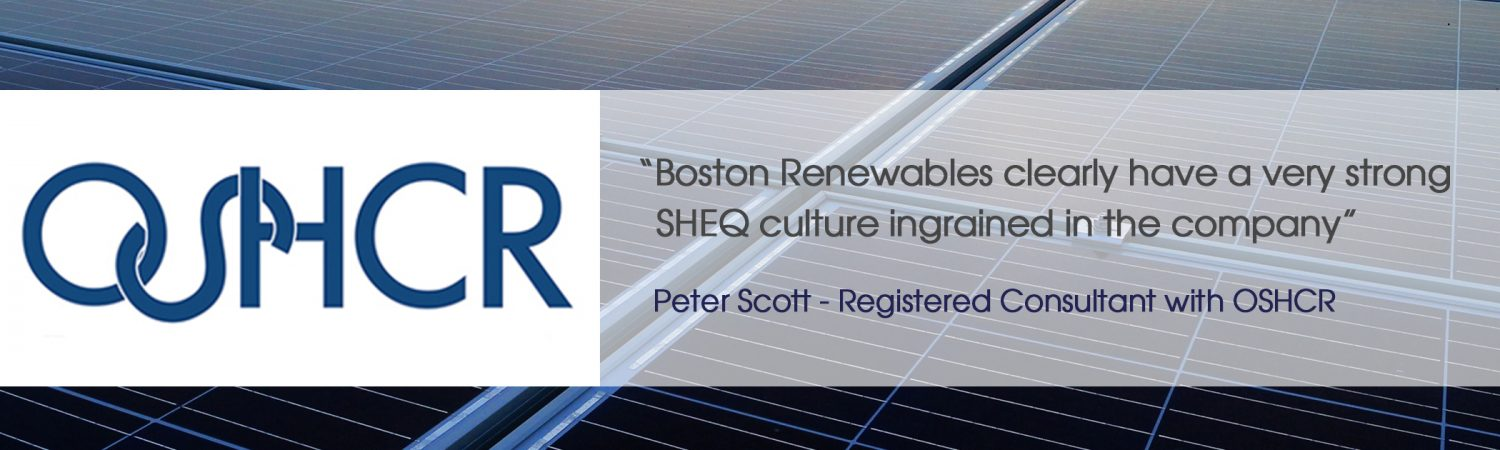 Boston Renewables has recently undertaken the installation of a 176kW roof mounted solar pv array…