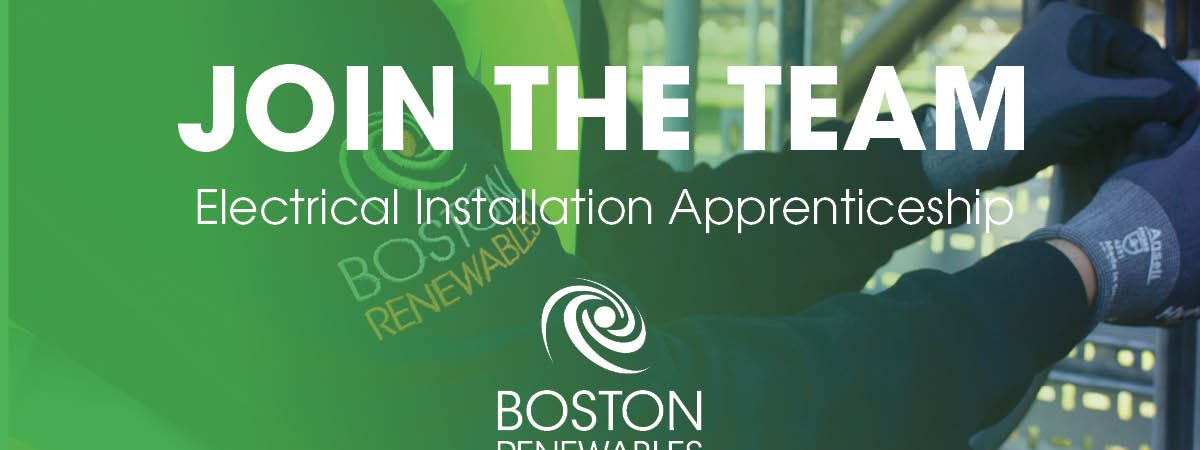 Boston Renewables have an excellent opportunity for an electrical apprentice to join a small team…